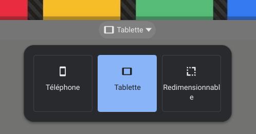 Redimensionner les fenêtre Android sur Chromebook