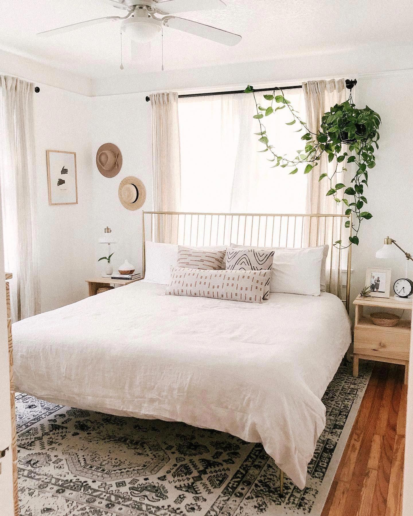 Chỉ nên trang trí một vài cây xanh trong phòng ngủ
