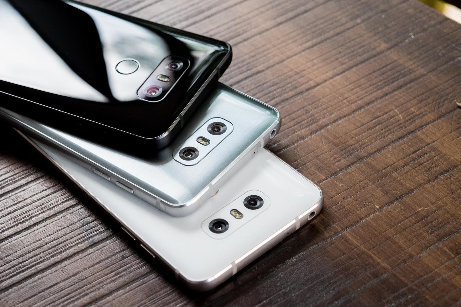 Khắc phục lỗi chân xạc báo ẩm máy LG G6 ra sao?