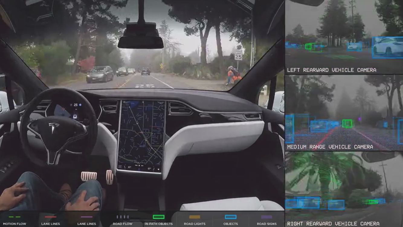 Artificial intelligence self driving