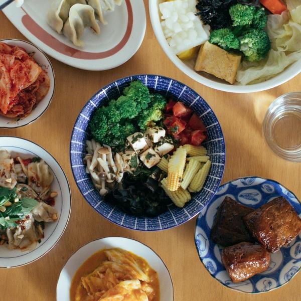 台北-蔬食餐廳推薦-仁里居-青辣椒豆腐乳拌飯