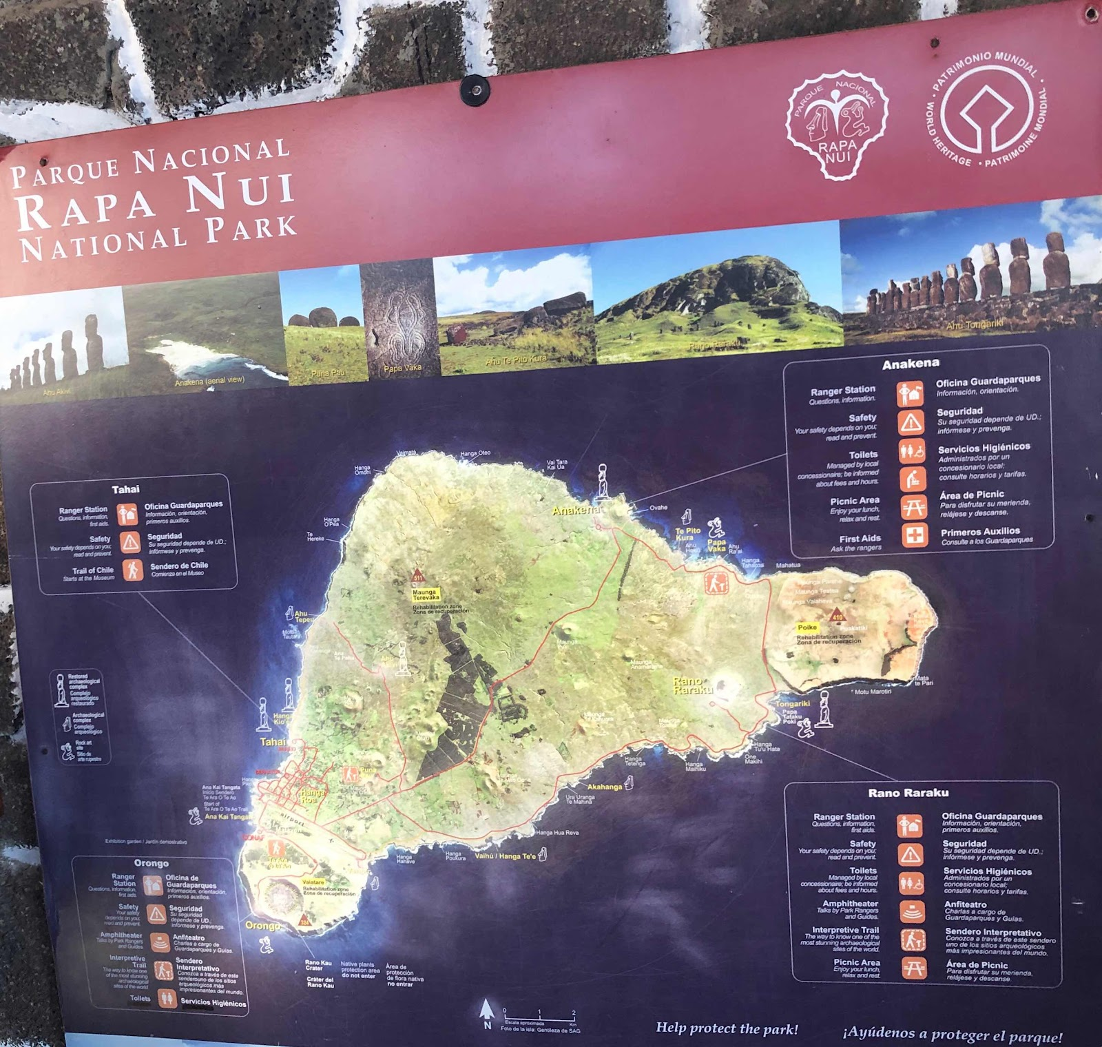 Starting our adventure in Rapa Nui (Easter Island)