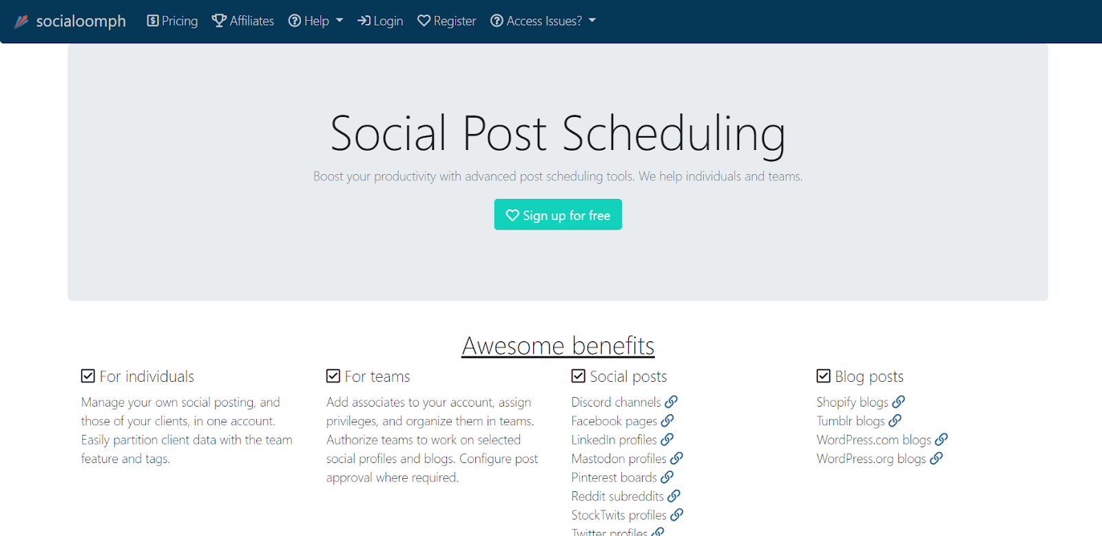 SocialOomph: Top 15 Social Media Tools Nigeria Businesses Can Use To Manage Their Accounts