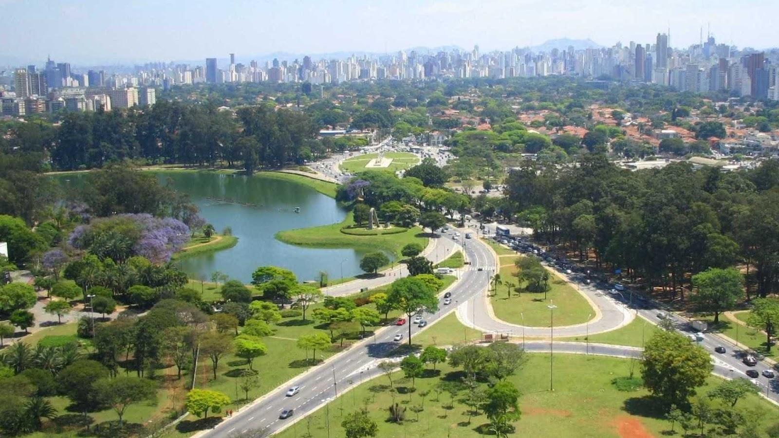 Parque Ibirapuera, em São Paulo