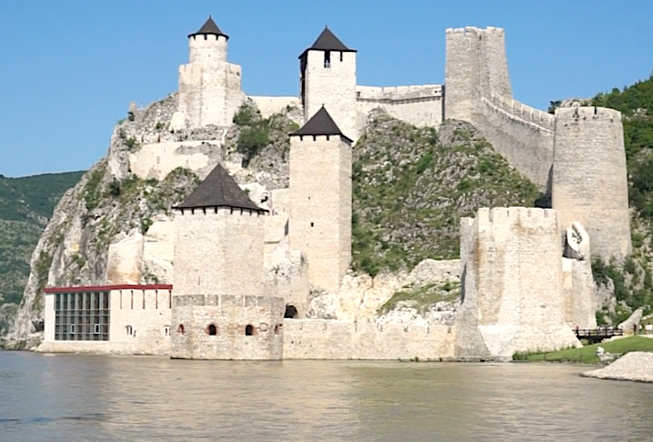 Serbia for digital nomads and remote workers is so fun. It's full of amazing historic sites, like Golubac fortress on Danube in Eastern Serbia.