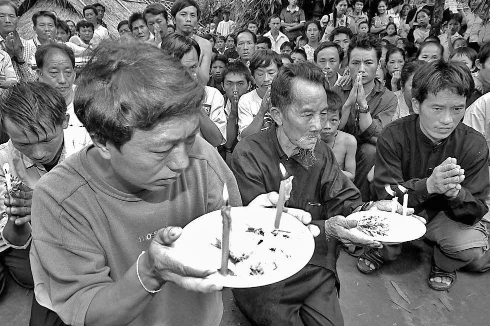 Hmong refugees after the Secret War