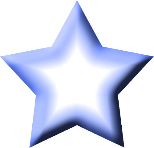 Star Blue 1 Png Clipart by