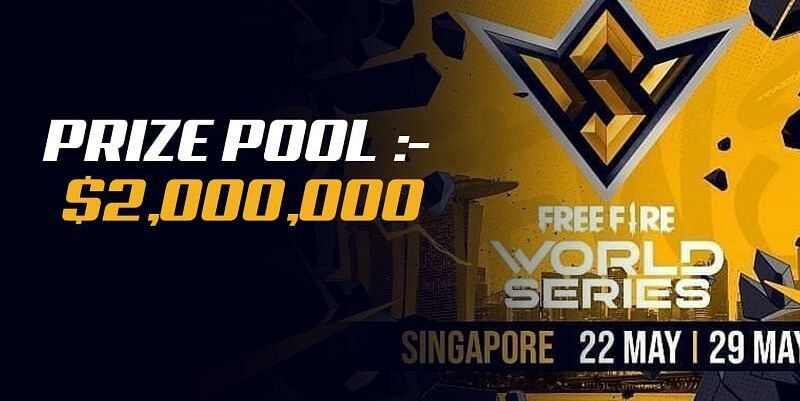 The ultimate Free Fire championship, or the Free Fire World Series Singapore 2021, will have a $2 million prize pool