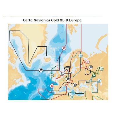 µSD-Karte 43XG Mediteranean /& Black Sea NAVIONICS