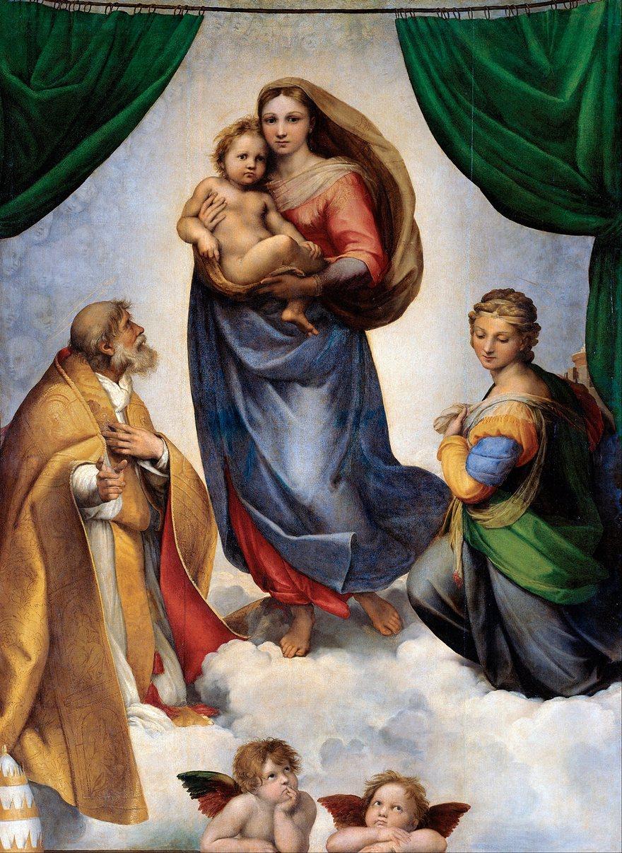 The Sistine Madonna-Raphael, 1512-13.jpeg