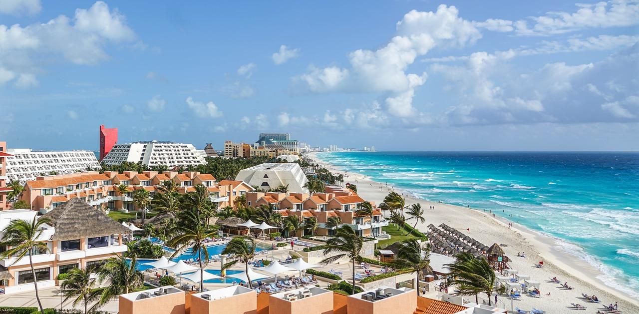 Zona hotelera en Cancún y Riviera maya
