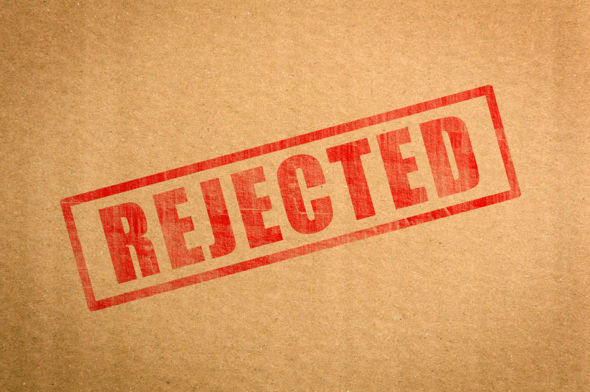 rejected sale