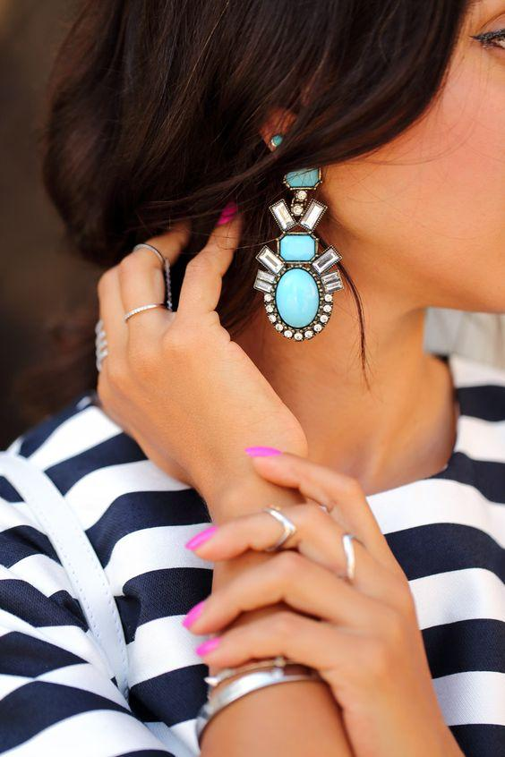 Image result for Statement earrings for girlfriend
