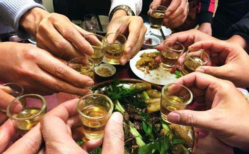 say xỉn ngày Tết, cách hạn chế say xỉn, say rượu
