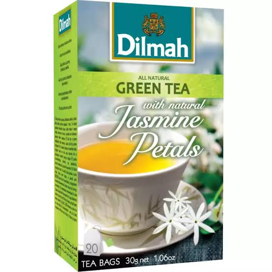 1. Dilmah Jasmine Green Tea