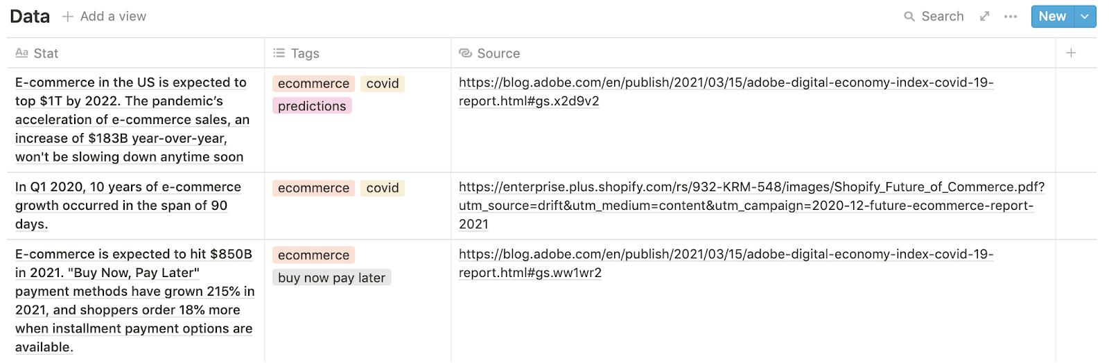 marketing swipe file example