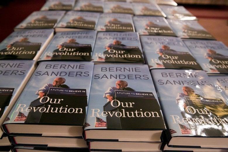 BERNIE SANDERS Book