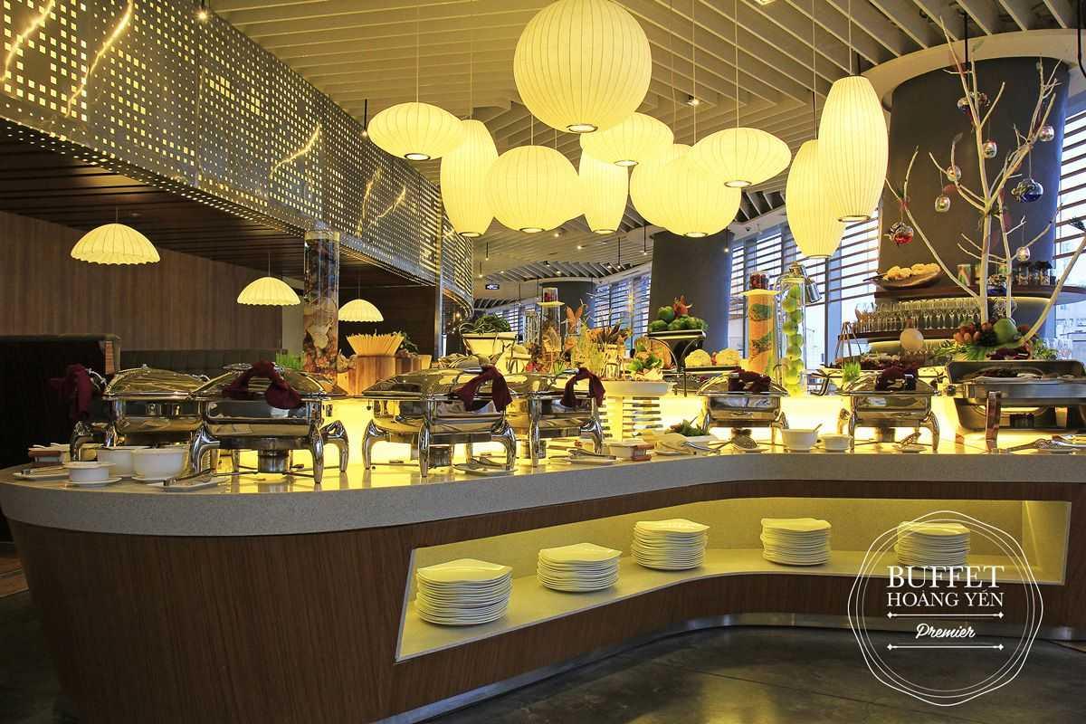 Không gian đẳng cấp trong tiệc buffet hải sản Tp.HCM tại Hoàng Yến Premier
