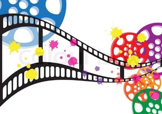Stock vektor af 'film, baggrund, kamera'