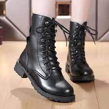 Gothic Ankle Boots For Women Winter Boots For Short Boots Female Winter  Shoes Women Boots Lady Leather Shoes Punk Black Booties|Ankle Boots| -  AliExpress