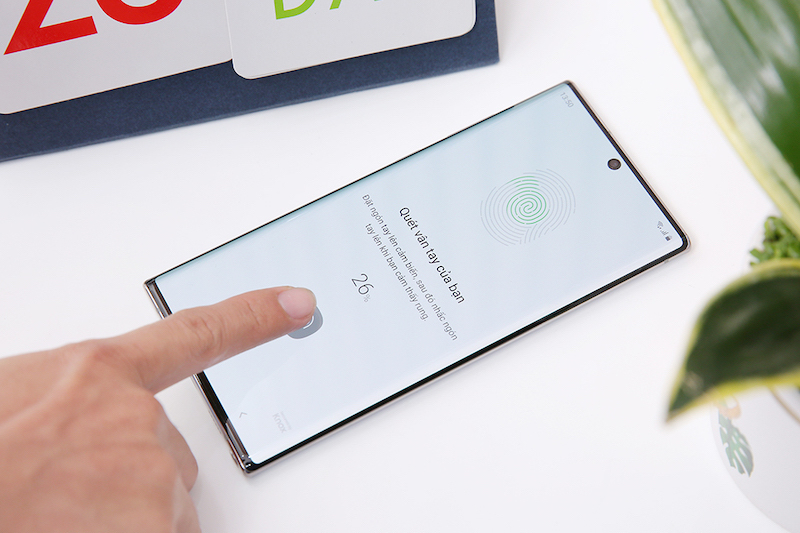 Điện thoại Samsung Galaxy Note 10+ | Cảm biến vân tay