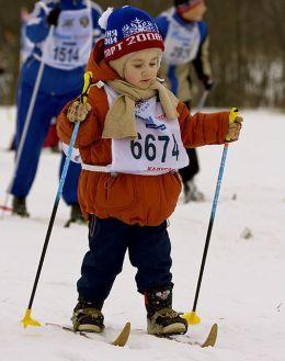 Лыжи для ребенка
