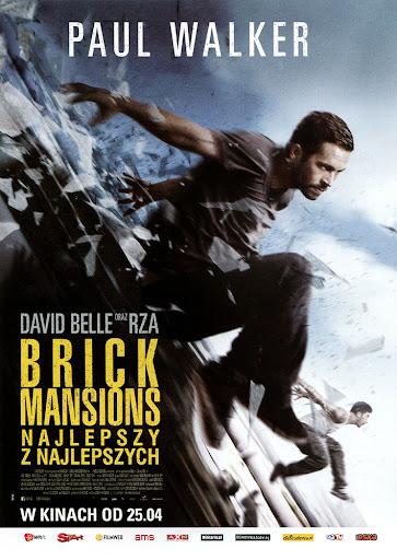 Przód ulotki filmu 'Brick Mansions. Najlepszy Z Najlepszych'