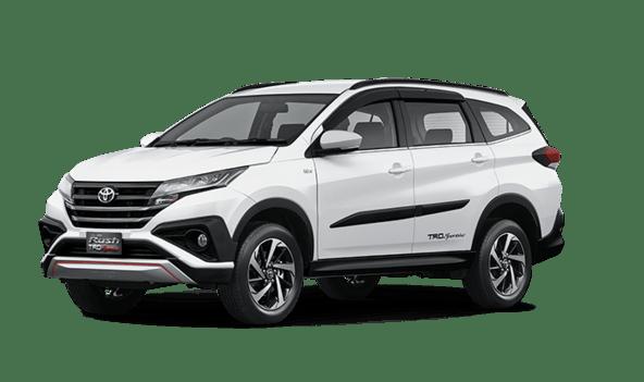 Toyota All New Rush White