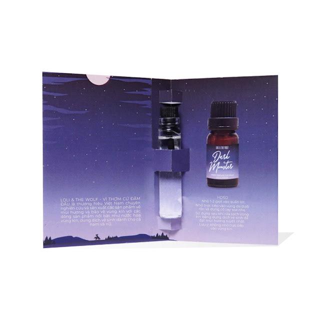 Nước hoa vùng kín nam - Dark Monster Eau De Parfum