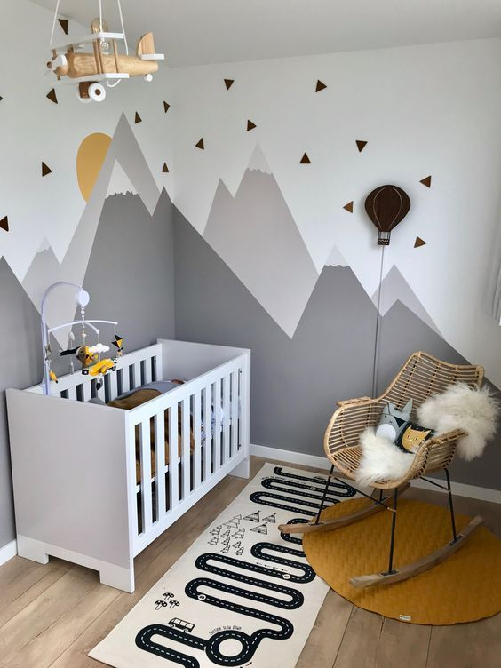 Hanging Baby Mobile for Your Little Boy's Bed