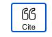 cite button