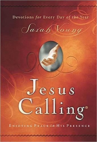 Image result for Picture of the book Jesus Calling