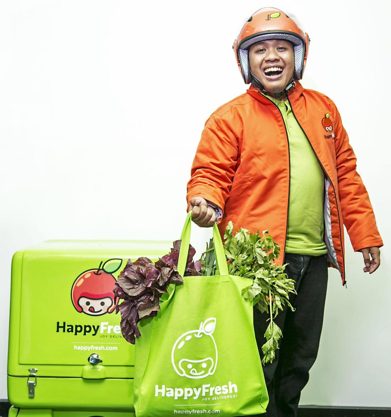 5. Layanan Pesan-Antar Makanan - HappyFresh