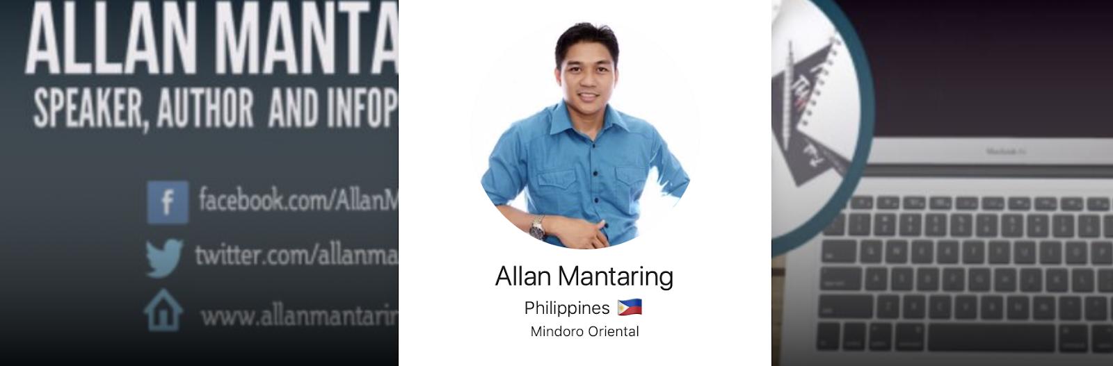 Allan Mantaring   Afluencer Profile   Stock Market Influencers Featured on Afluencer