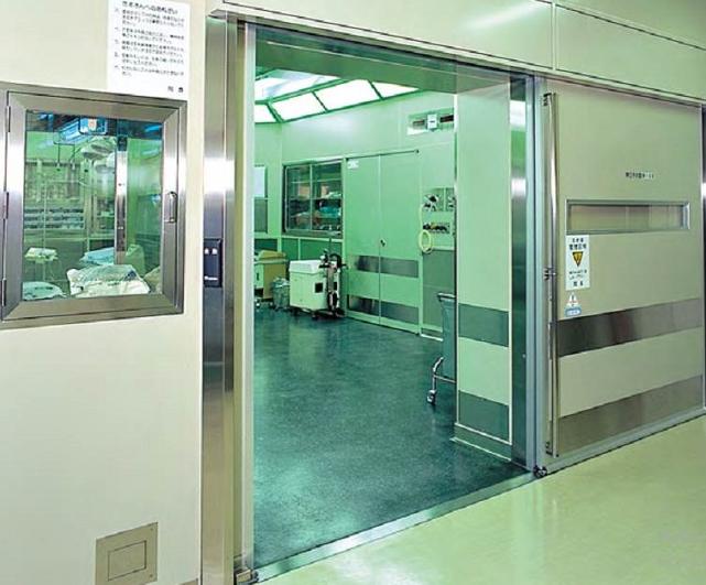 Tìm hiểu về cửa tự động trong các phòng mổ bệnh viện