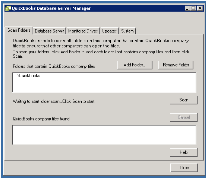 Install QBDB Server Manager