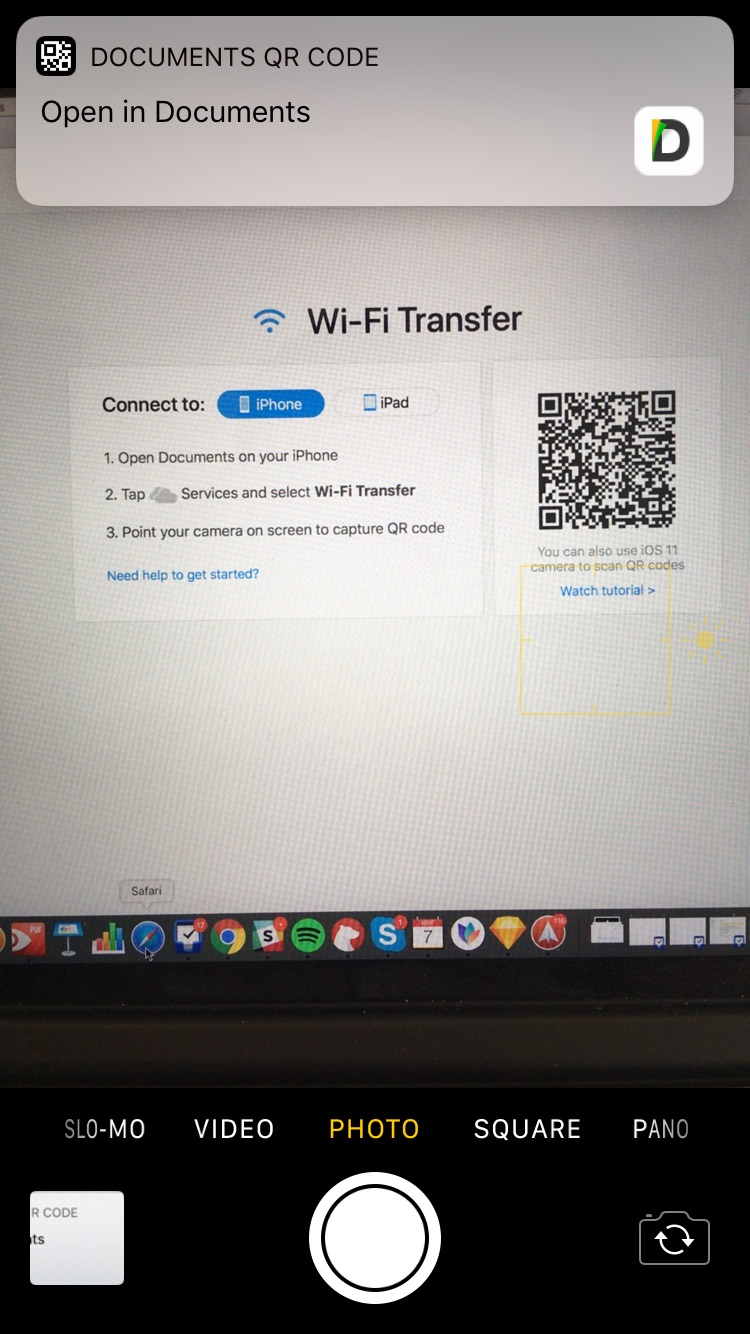 Manage files from a computer wirelessly via Wi-Fi Transfer