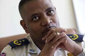 HAITI EFFECTIVELY HAS NO POLICE FORCE BECAUSE OF ARISTIDE AND ARISTIDE POLICE CHIEF MICHEL-ANGE GEDEON.