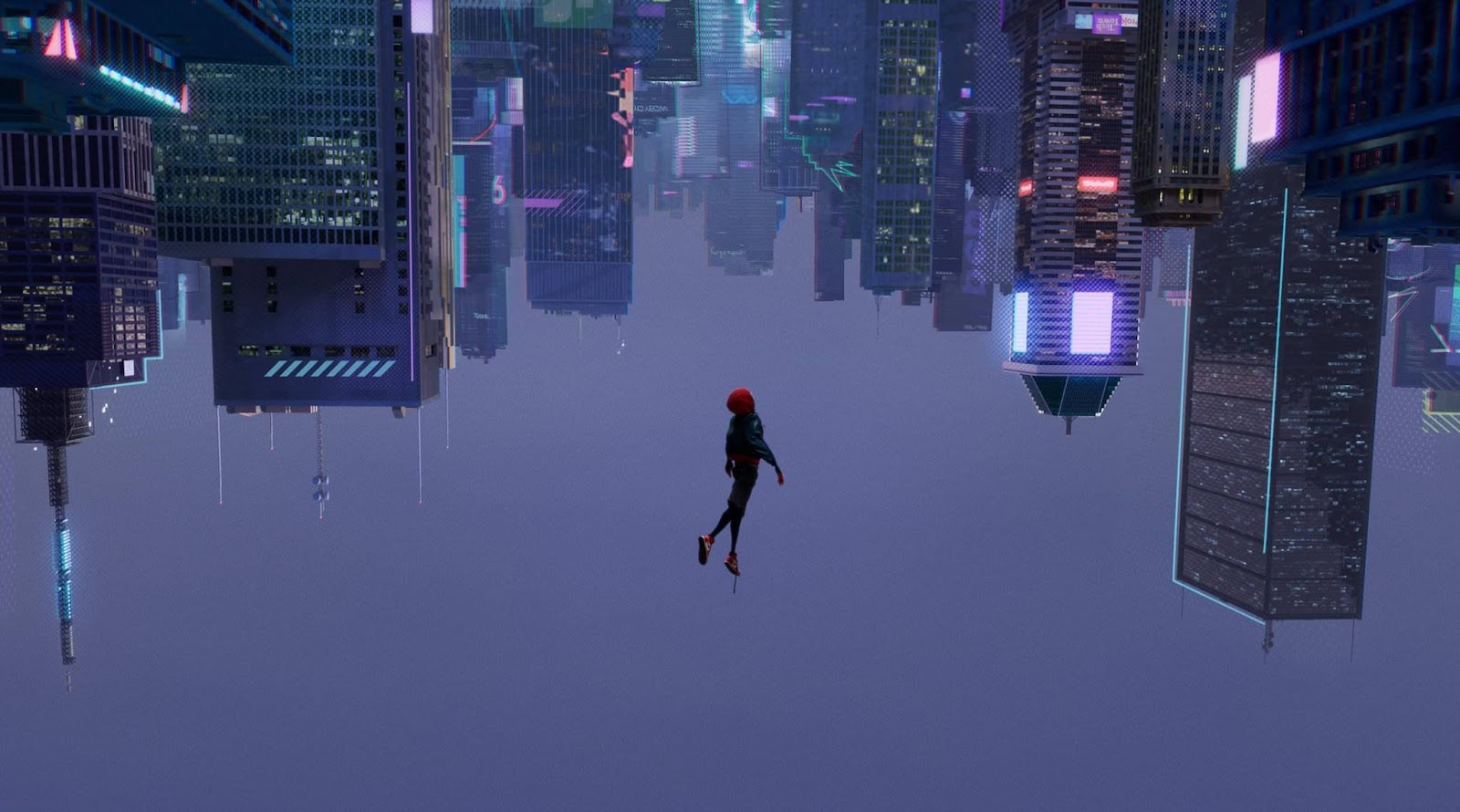Image result for spider verse leap of faith