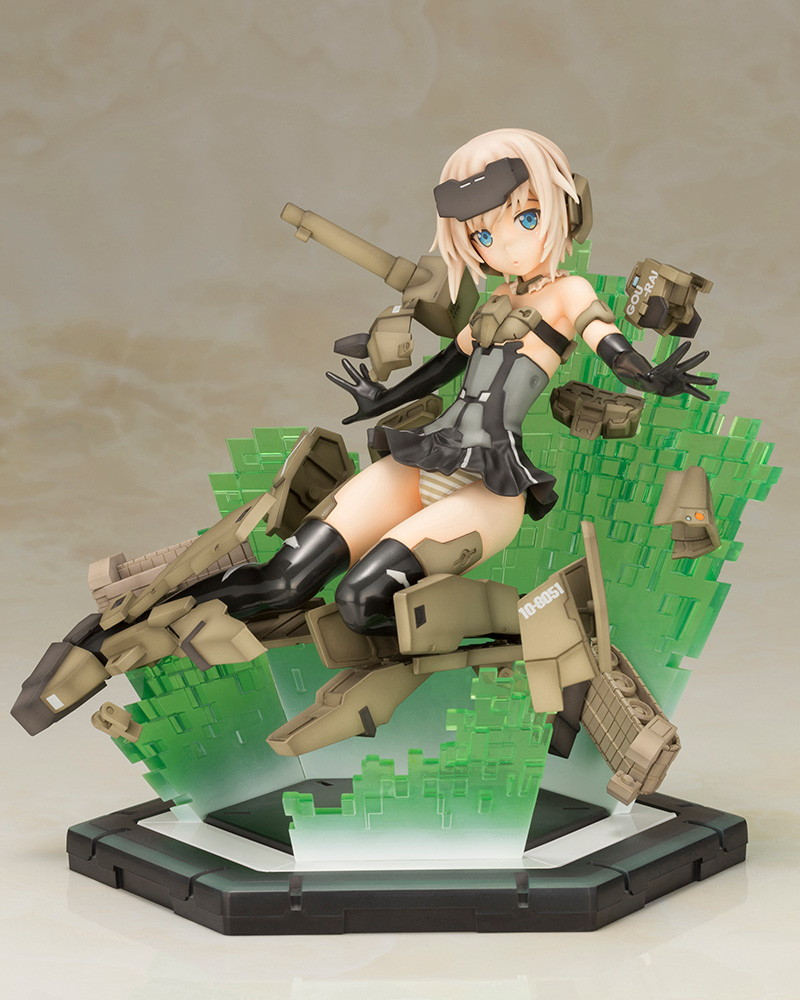 Kotobukiya 壽屋 / Frame Arms Girl 骨裝機娘 / 轟雷 SESSION GO!! RE版 PVC