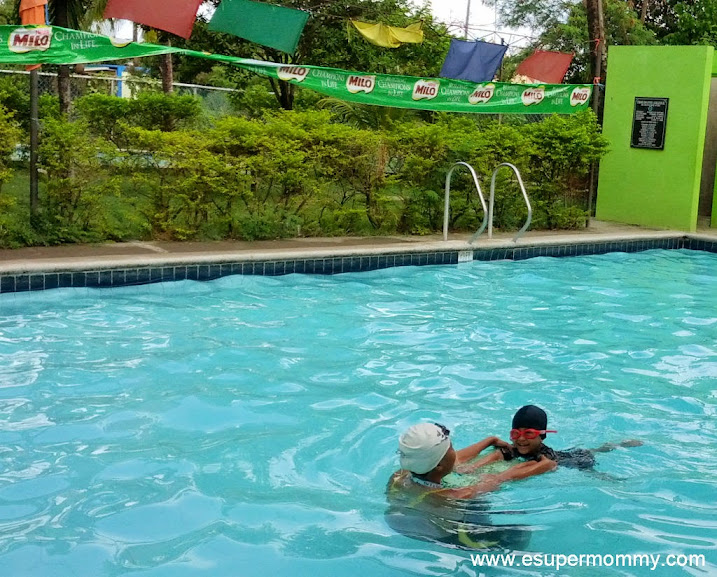 Milo Sports Clinic Swimming Lesson for kids
