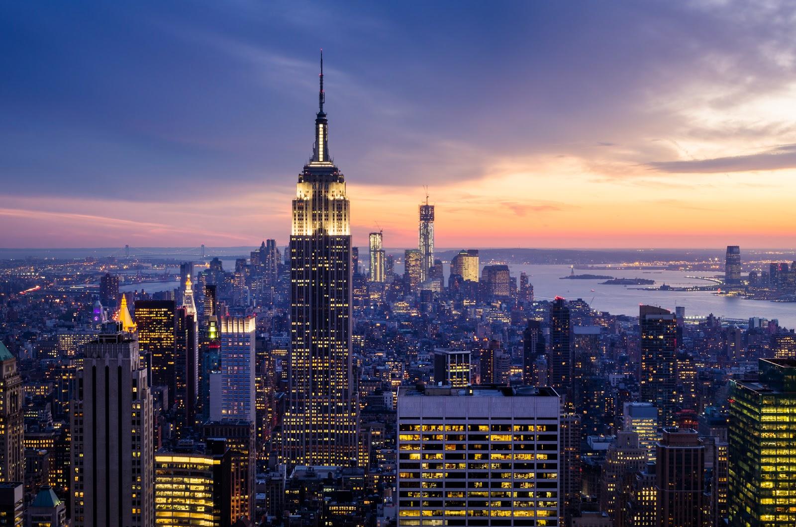 Горящие туры в Нью-Йорк