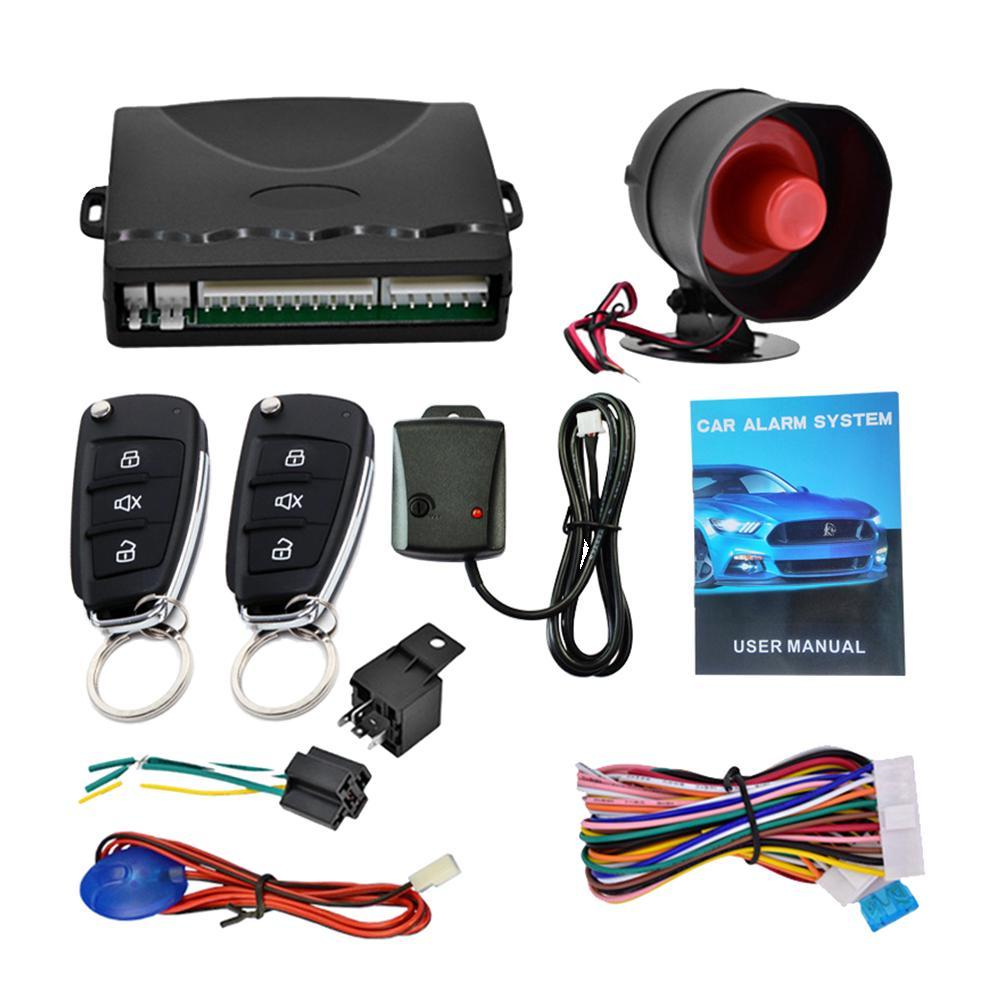 Buy 1 Set Car Alarm System Remote Control Alarm System Keyless Entry System  Security System for Vehicle at affordable prices — free shipping, real  reviews with photos — Joom