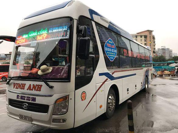 Xe Vinh Anh từ Hà Nội đi Mộc Châu