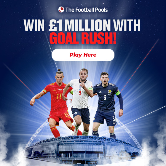 The Football Pools - Win £1 Million with Goal Rush