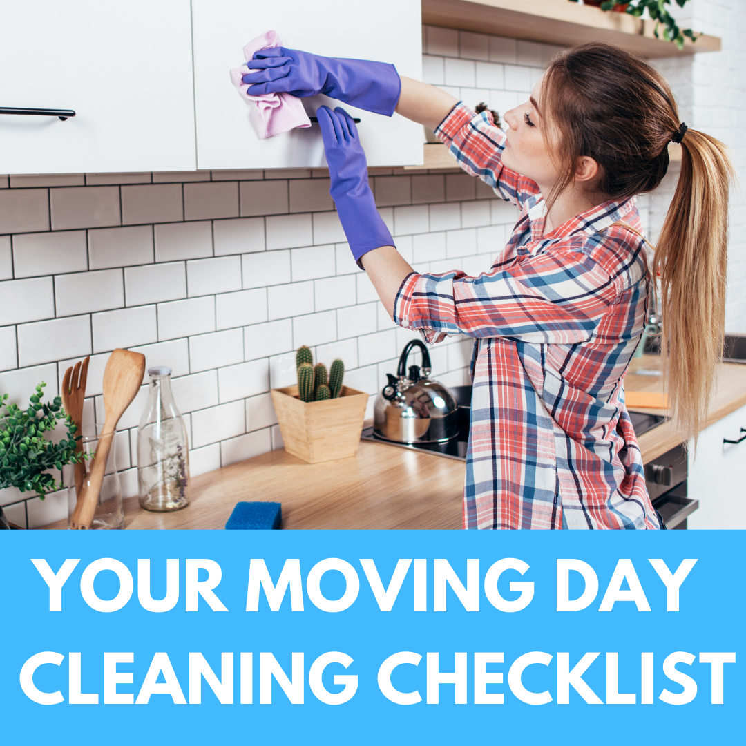 Your Moving Day Cleaning Checklist