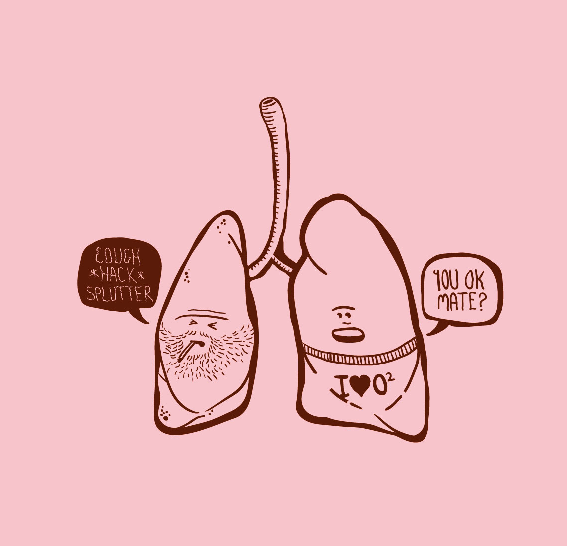 lungs like marijuana