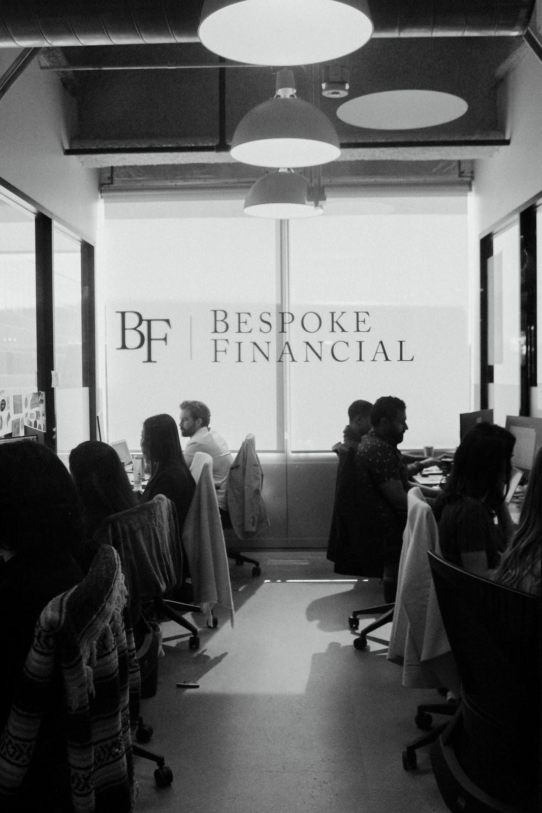 The Bespoke team at work