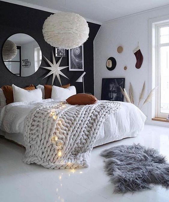 Dreamy Cloud Ceiling Light In Bedroom