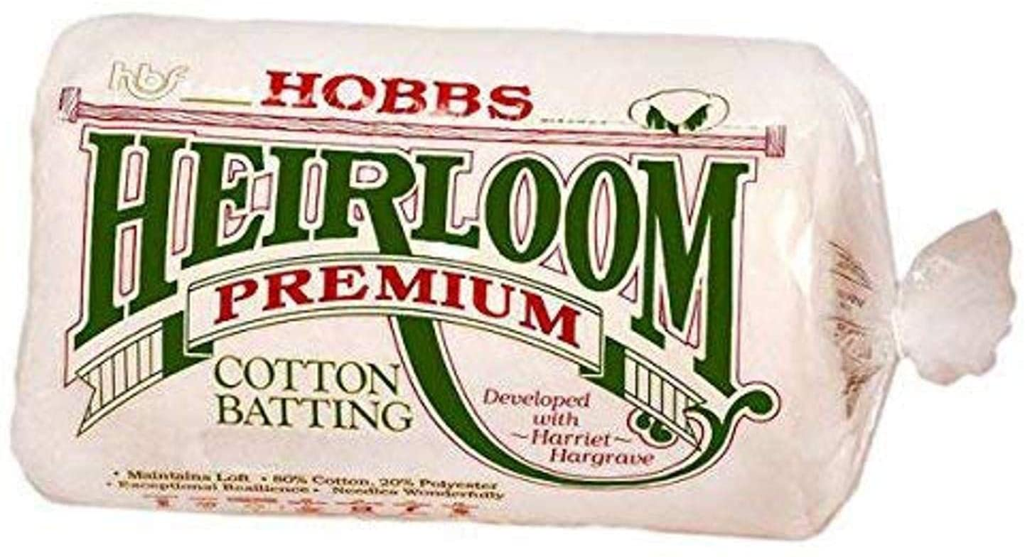 Hobbs Batting Heirloom 80/20